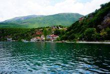 Охрид - македонска панорама, с автобус