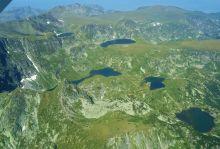 Панорамен полет над Рилските езера